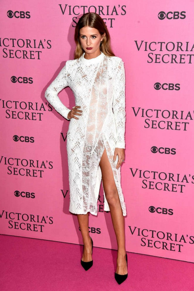 Millie Mackintosh - Victoria's Secret Fashion Show Pink Carpet 2014 in London