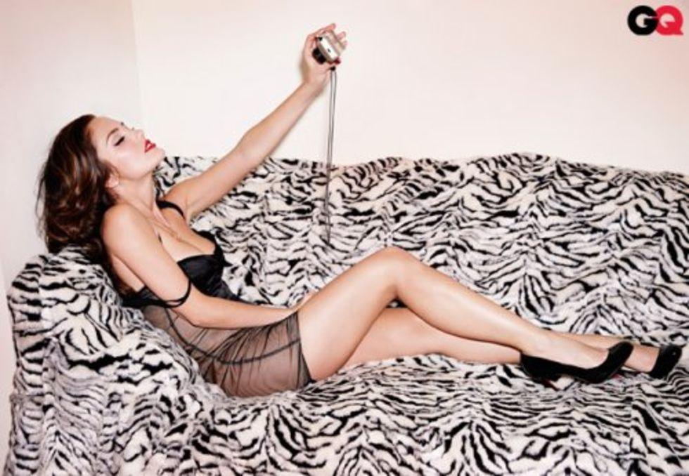 Back to FULL gallery Minka Kelly GQ photo shoot