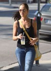 Minka Kelly - Jeans candids in Los Angeles