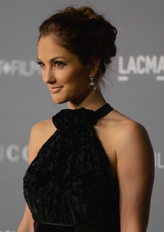 Minka Kelly - LACMA Art in Los Angeles 2012