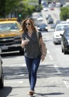 Minka Kelly in jeans -14