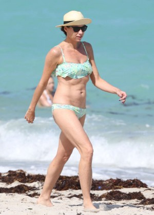 Minnie Driver Bikini Photos: 2014 in Malibu -02