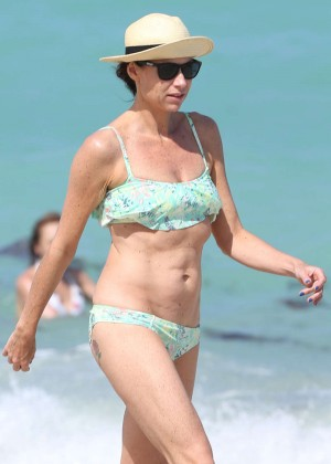 Minnie Driver Bikini Photos: 2014 in Malibu -03