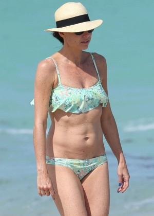 Minnie Driver Bikini Photos: 2014 in Malibu -06