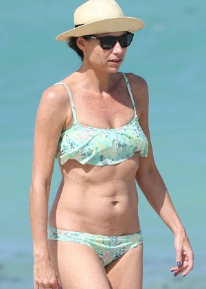 Minnie Driver Bikini Photos: 2014 in Malibu -08