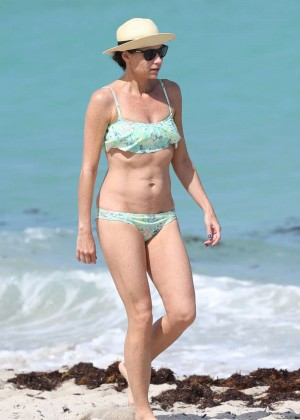 Minnie Driver Bikini Photos: 2014 in Malibu -09