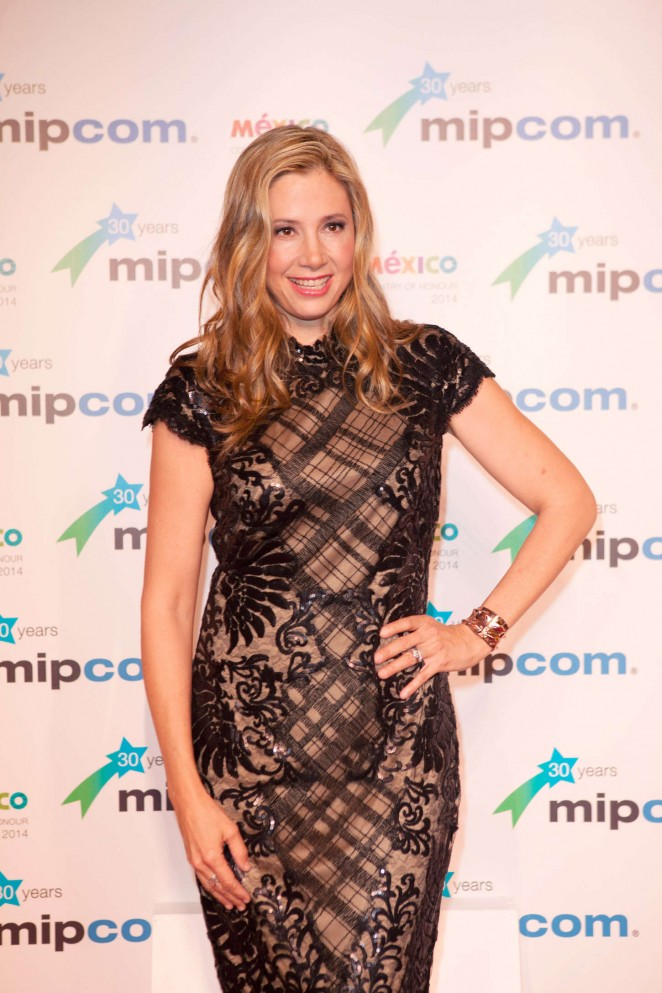 Mira Sorvino - 2014 MIPCOM Opening party held at the Hotel Martinez in Cannes, France