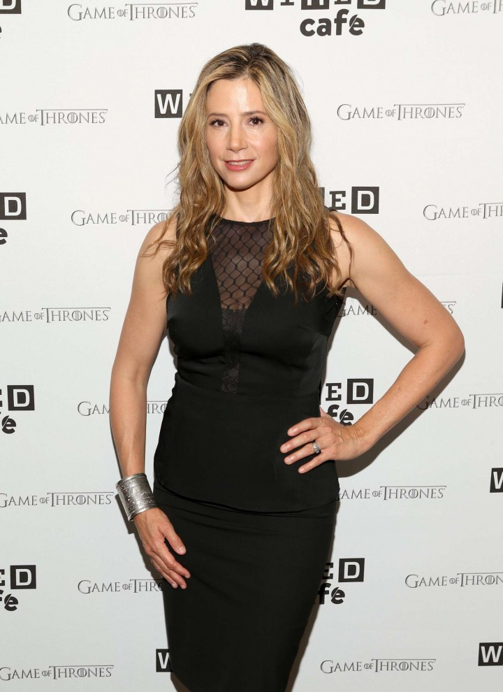 Mira Sorvino - WIRED Cafe at Comic-Con 2014