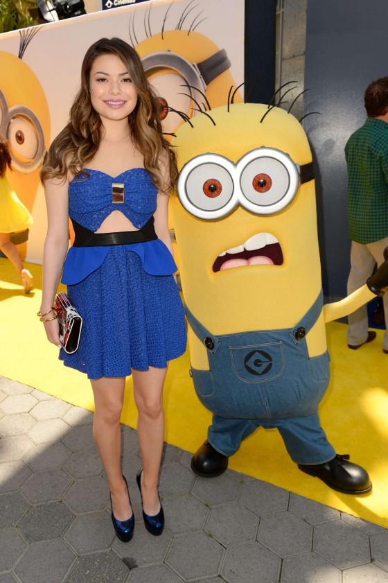 Miranda Cosgrove - Despicable Me 2 premiere in Universal ... Miranda Cosgrove Despicable Me