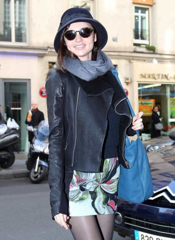 Miranda Kerr at Balenciaga Ready to Wear Autumn/Winter 2011-2012 in Paris