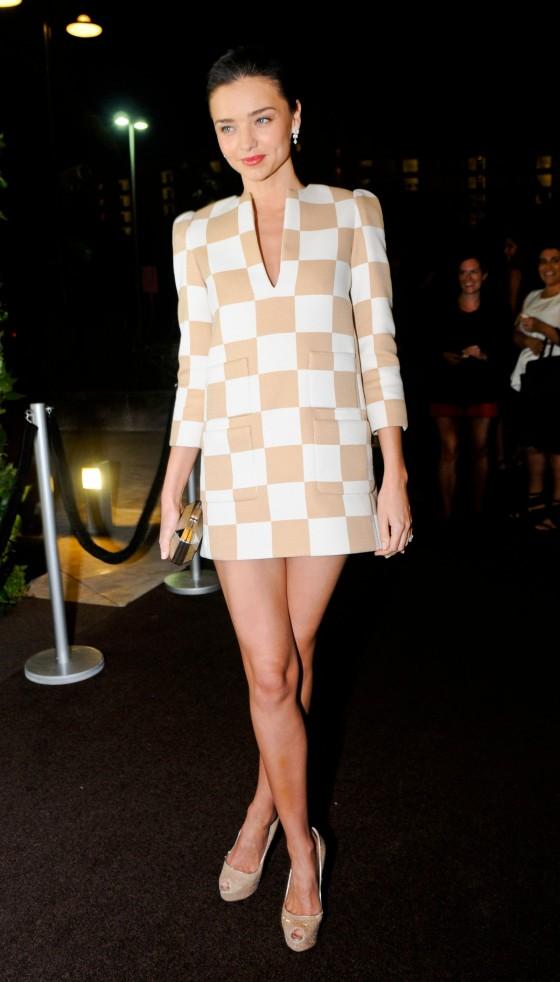 Miranda Kerr - Louis Vuitton Boutique Opening Event
