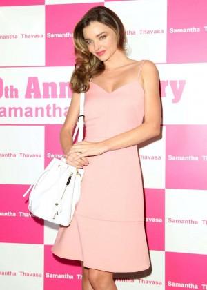 Miranda Kerr at Samantha Thavasa 20th Anniversary Event in Hong Kong