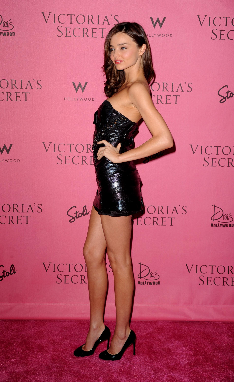 Black dress victoria secret - Miranda Kerr At Victorias Secret 5th Annual What Is Sexy Event 07 Full Size