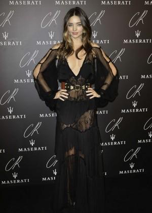 Miranda Kerr - CR Fashion Book Issue N°5 Launch Party in Paris