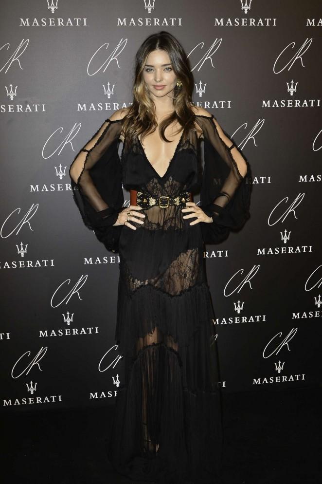 Exclusive Miranda Kerr Louis Vuitton Paris Fahion Week