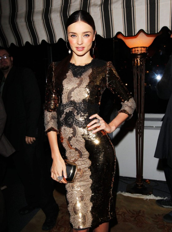 Miranda Kerr - Dom Perignon & W Magazine Celebrate The Golden Globes in Los Angeles, January 11, 2013