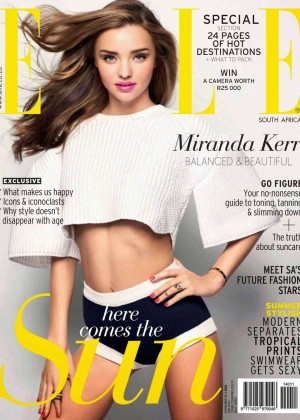 Miranda Kerr - ELLE South Africa Magazine Cover (November 2014)