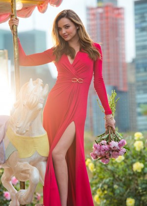"""Miranda Kerr - Escada """"Joyful"""" 2014 Campaign"""