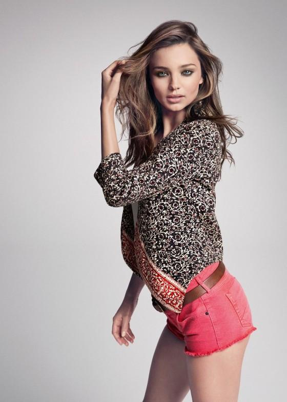 Miranda Kerr – MANGO Summer 2013 Catalogue -02