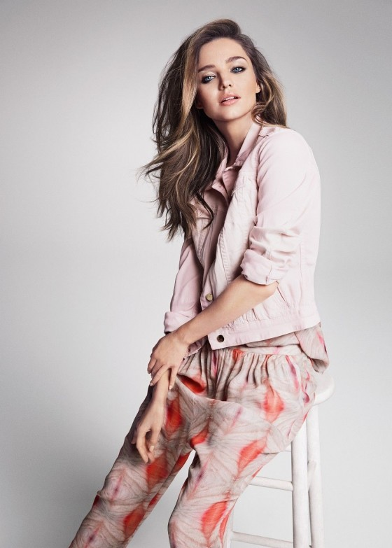 Miranda Kerr – MANGO Summer 2013 Catalogue -08