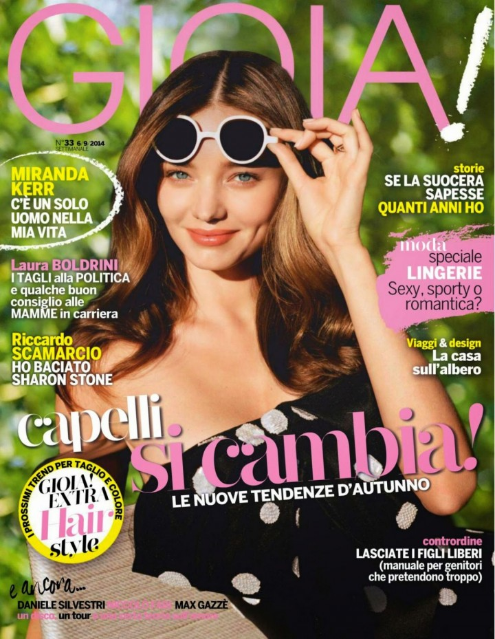 Miranda Kerr - Gioia! Magazine (September 2014)