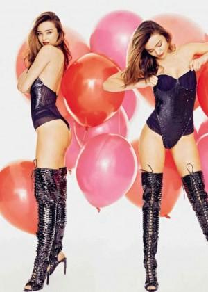 Miranda Kerr - Glamour Spain Magazine (December 2014)
