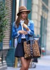 Miranda Kerr leggy in short skirt-06