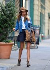 Miranda Kerr leggy in short skirt-07