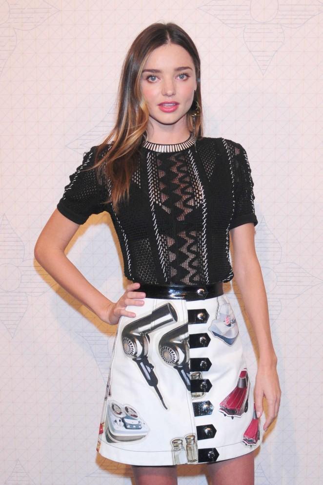 Miranda Kerr - Louis Vuitton Monogram Celebration in NYC