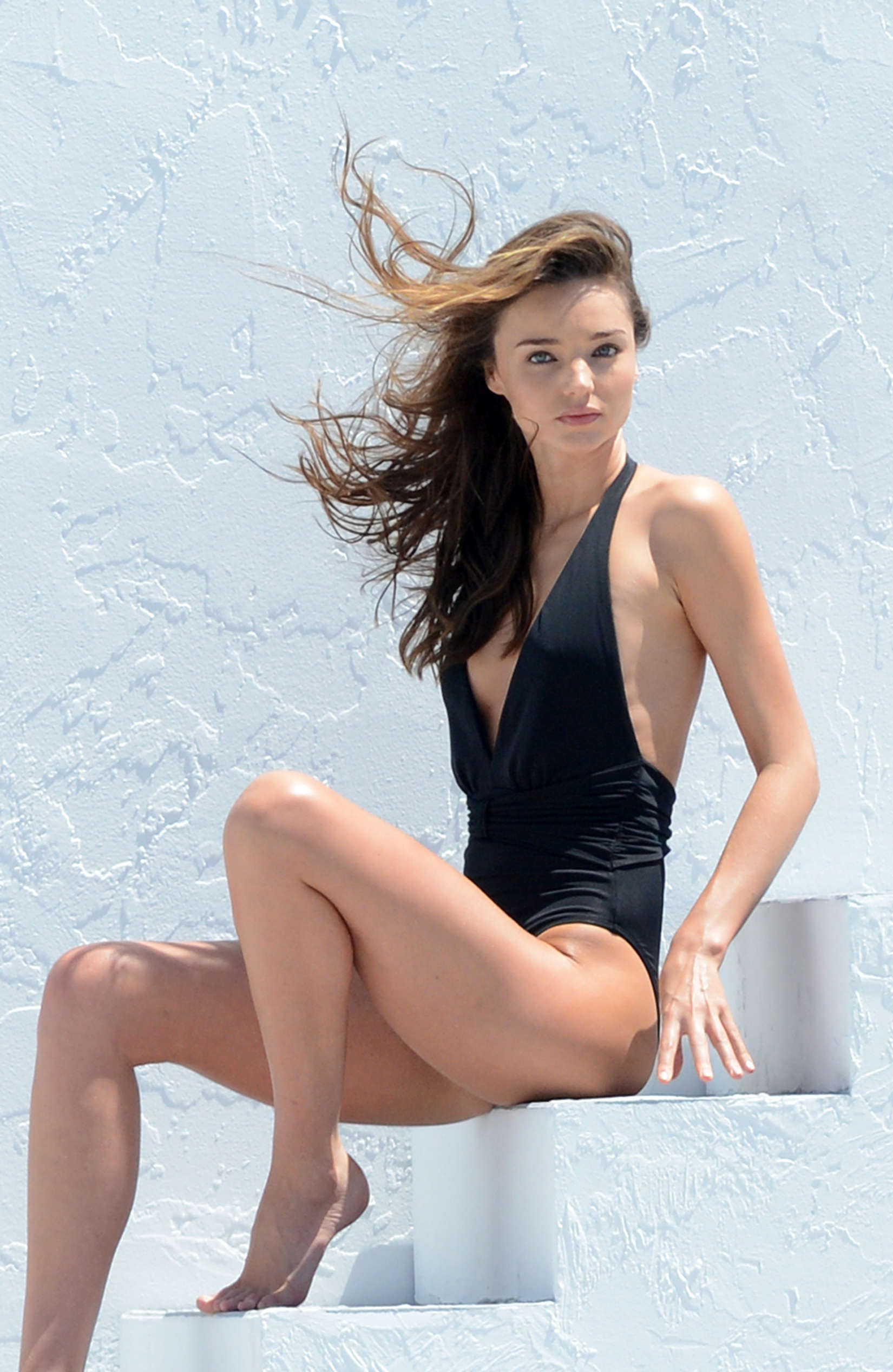Miranda Kerr 2013 : Miranda Kerr – on a bikini photoshoot in Miami -03