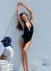 Miranda Kerr - on a bikini photoshoot in Miami -12