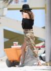 Miranda Kerr - on a bikini photoshoot in Miami -26