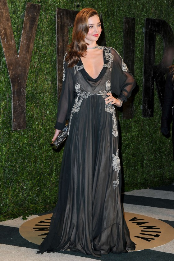 Miranda Kerr – Oscar 2013 – Vanity Fair Party -12