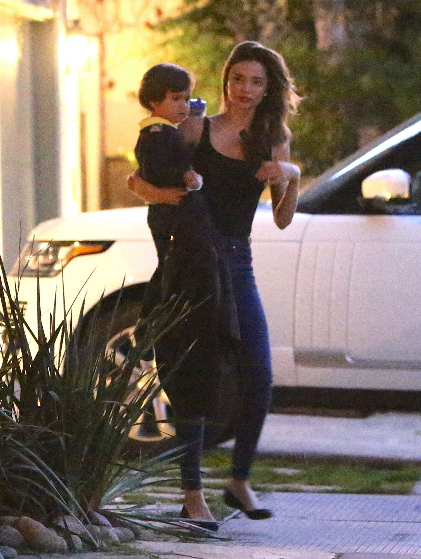 Miranda Kerr with her son out in Malibu