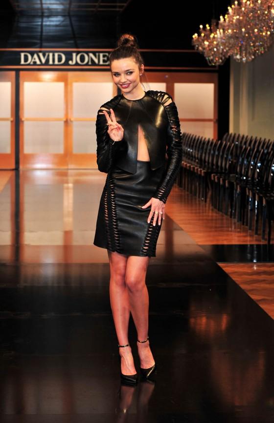 Miranda Kerr – Runway For David Jones Show -02