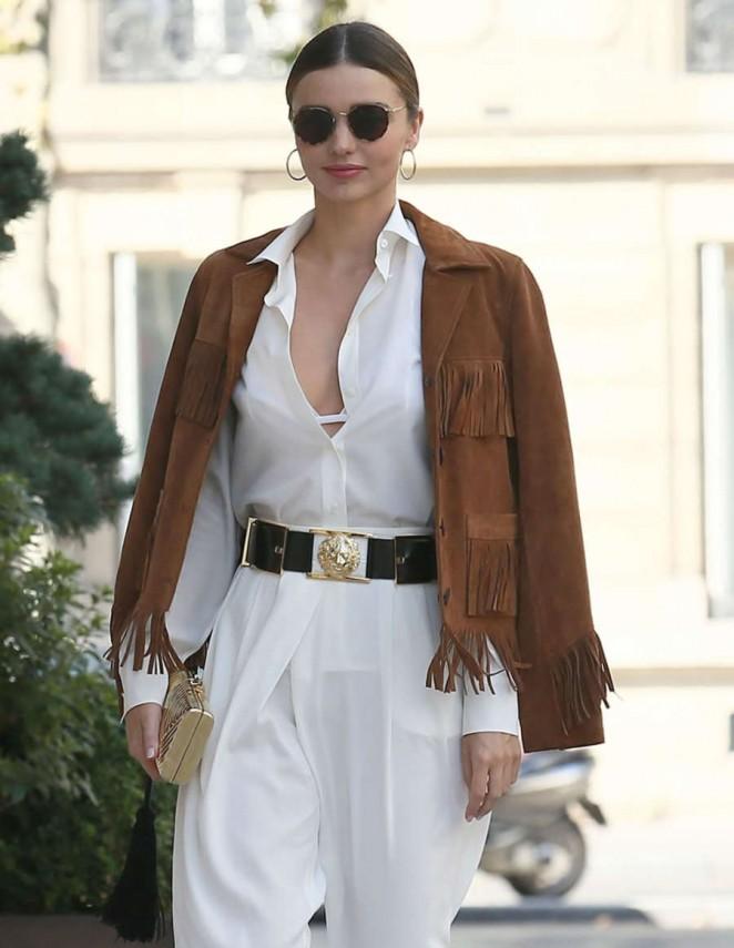 Miranda Kerr out in Paris -07