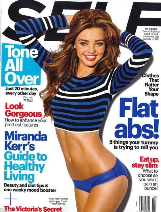 Miranda Kerr: SELF Magazine Cover -01