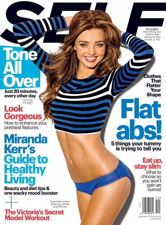 Miranda Kerr: SELF Magazine -02