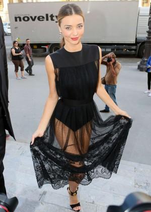 Miranda Kerr - Shiatzy Chen Fashion Show 2015 in Paris