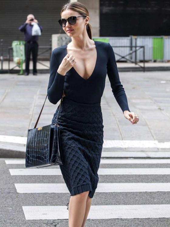Miranda Kerr Shopping Candids in Paris -03