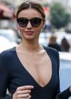 Miranda Kerr Shopping Candids in Paris -07