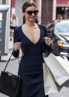 Miranda Kerr Shopping Candids in Paris -08