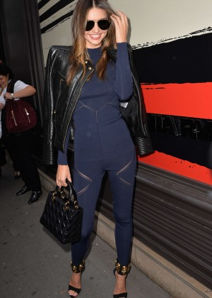 Miranda Kerr - Sonia Rykiel Fashion Show 2015 in Paris