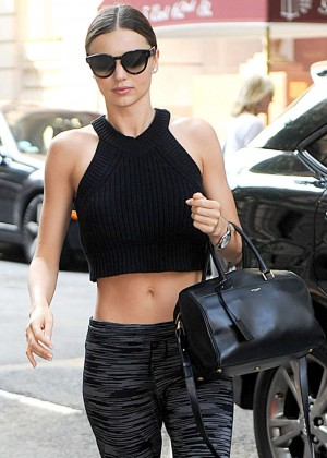Miranda Kerr Spotted out in NYC