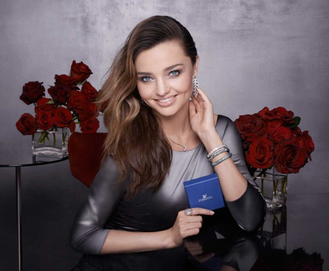 Miranda Kerr - Swarovski 'Perfect Gift' 2014 Holiday Season Collection