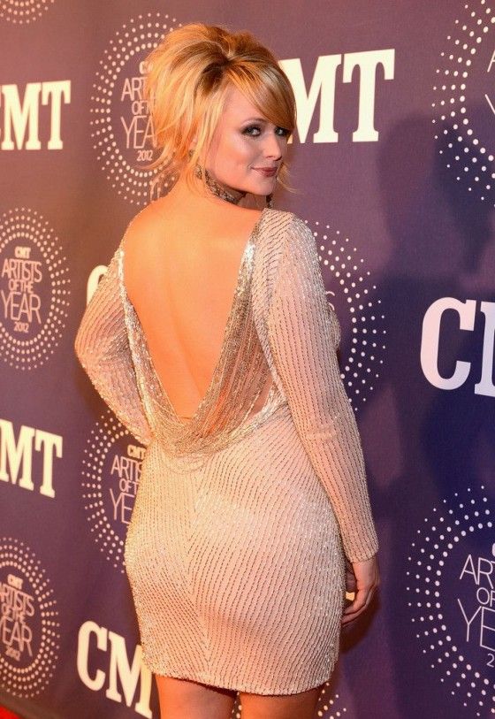 Miranda Lambert - 2012 CMT Artists Of The Year Awards in Franklin Tennessee