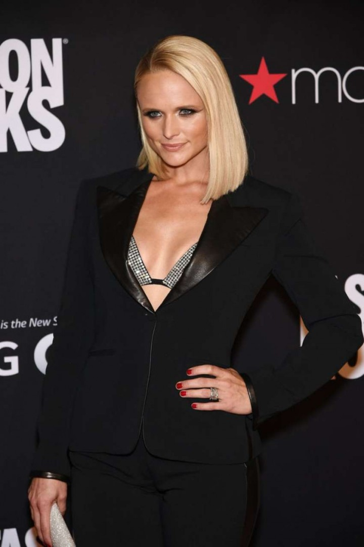 Miranda Lambert: Red Carpet at 2014 Fashion Rocks in NY