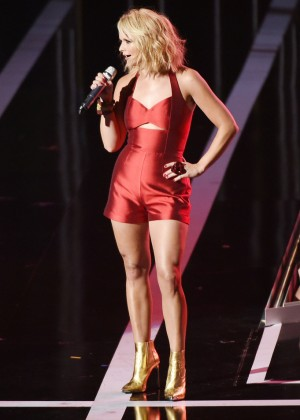 Hannah Ferguson - Performs at Fashion Rocks 2014 at the Barclays Center in NY
