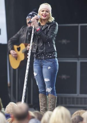 Miranda Lambert - Performs at the Belk Bowl in Charlotte