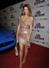 Mischa Barton wear shinny dress at 2012 Official Launch of BritWeek in Los Angeles
